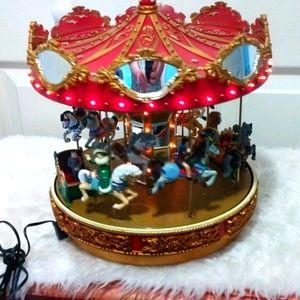 Mr. Christmas Holiday Carousel Animated 30 Songs